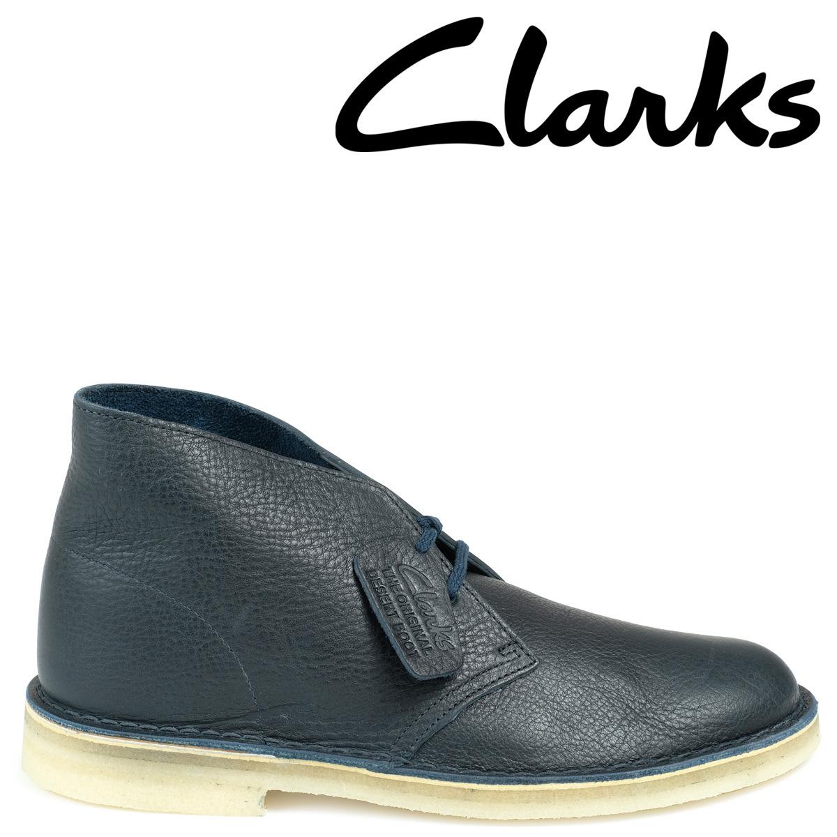 Clarks デザートブーツ メンズ クラークス DESERT BOOT 26125548 レザー 靴 ネイビー