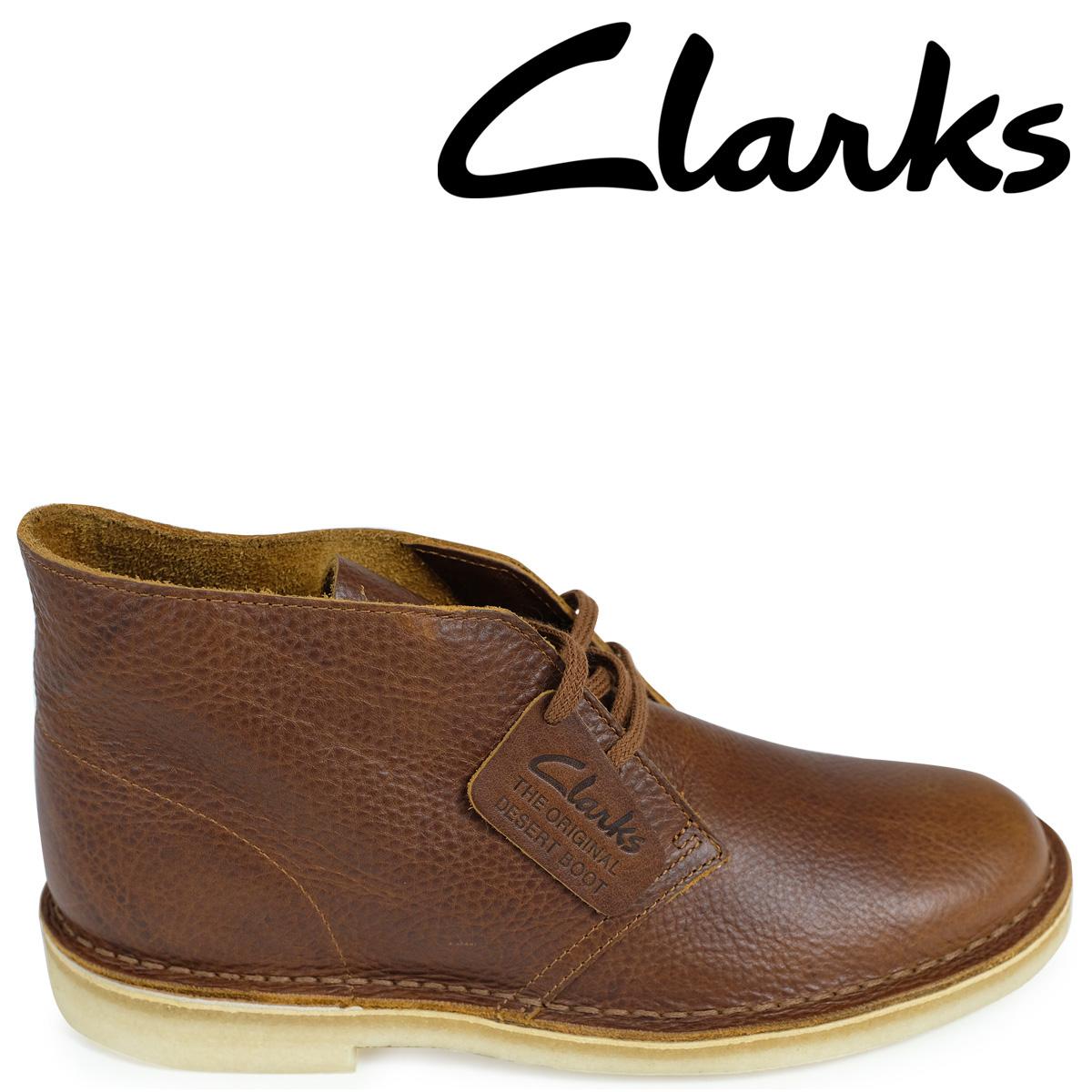 Clarks デザートブーツ メンズ クラークス DESERT BOOT 26125549 レザー 靴 ブラウン