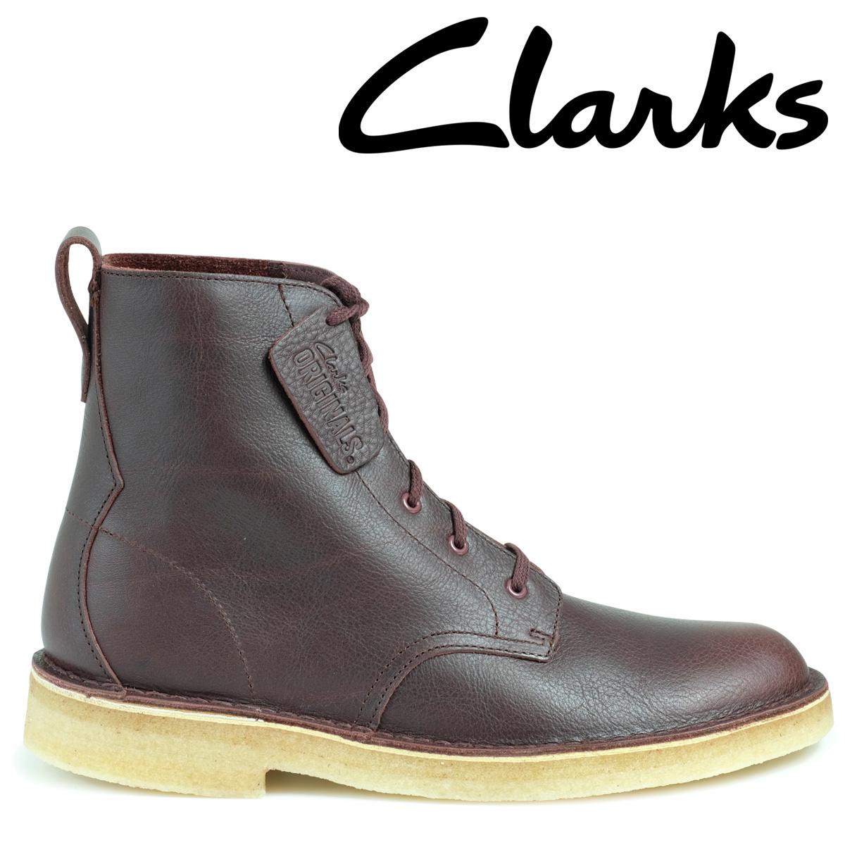 Clarks デザート マリ ブーツ クラークス メンズ DESERT MALI 26126186 靴 バーガンディー