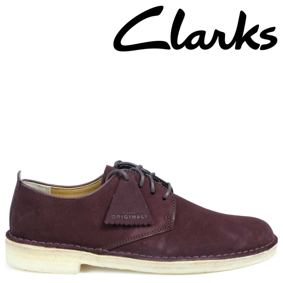 Clarks デザート ロンドン シューズ クラークス メンズ DESERT LONDON 2628511 靴 バーガンディー