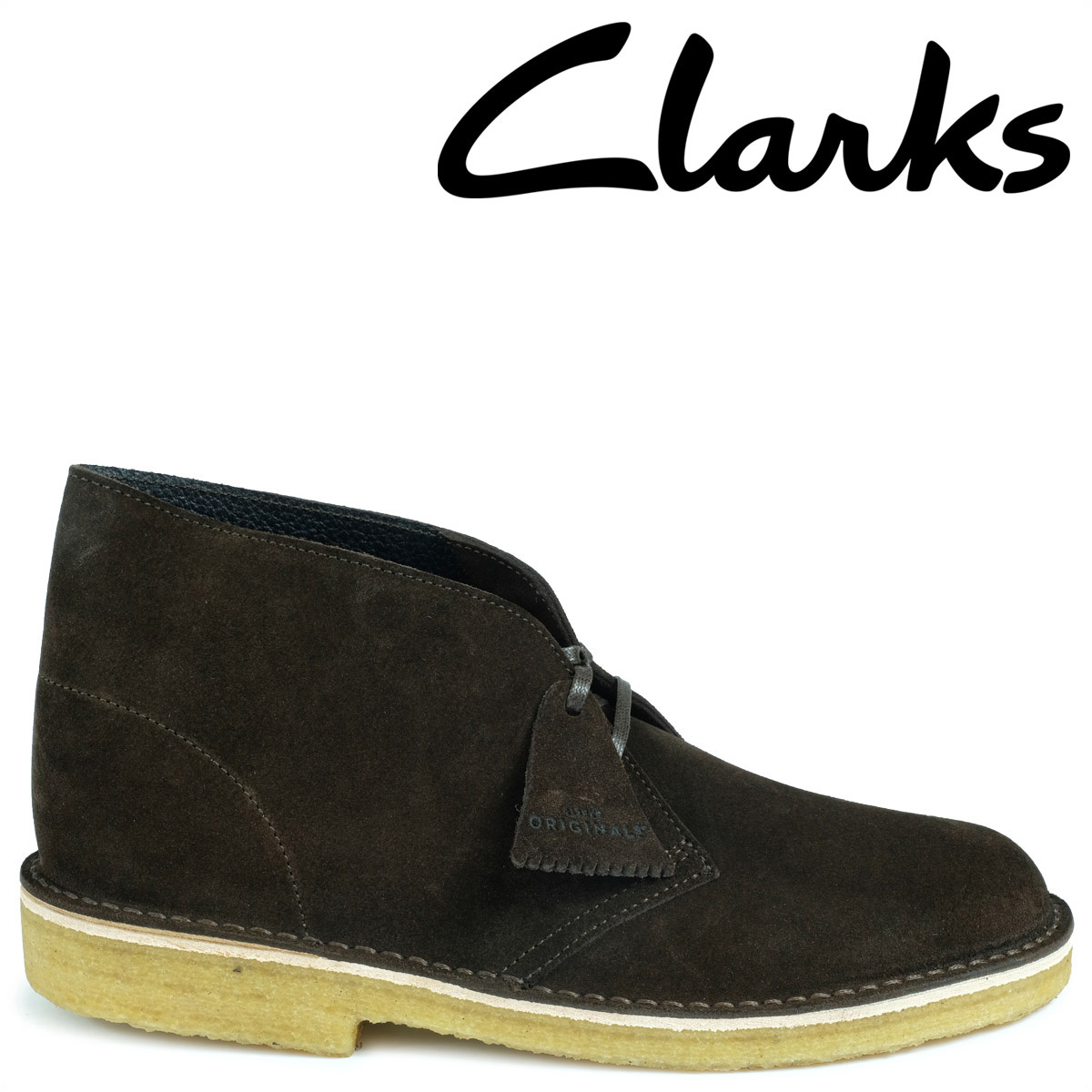 Clarks デザートブーツ メンズ クラークス DESERT BOOT 26128538 レザー 靴 ブラウン