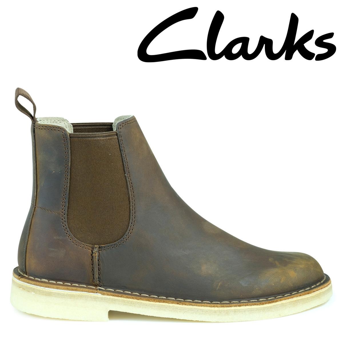 Clarks デザート ピーク ブーツ メンズ クラークス DESERT PEAK 26128732 サイドゴア 靴 ブラウン