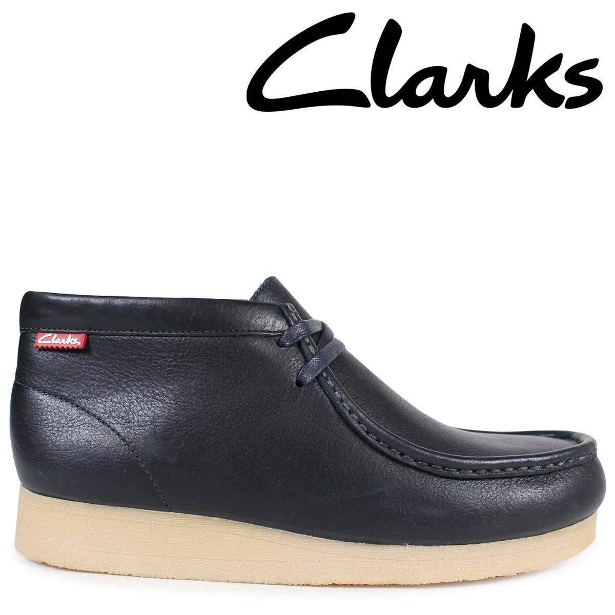 【お買い得!】 Clarks ワラビー ブーツ メンズ クラークス ワラビー 靴 STINSON HI 26130808 メンズ レザー 靴 ネイビー, ワインと地酒の店 かたやま:27451213 --- canoncity.azurewebsites.net