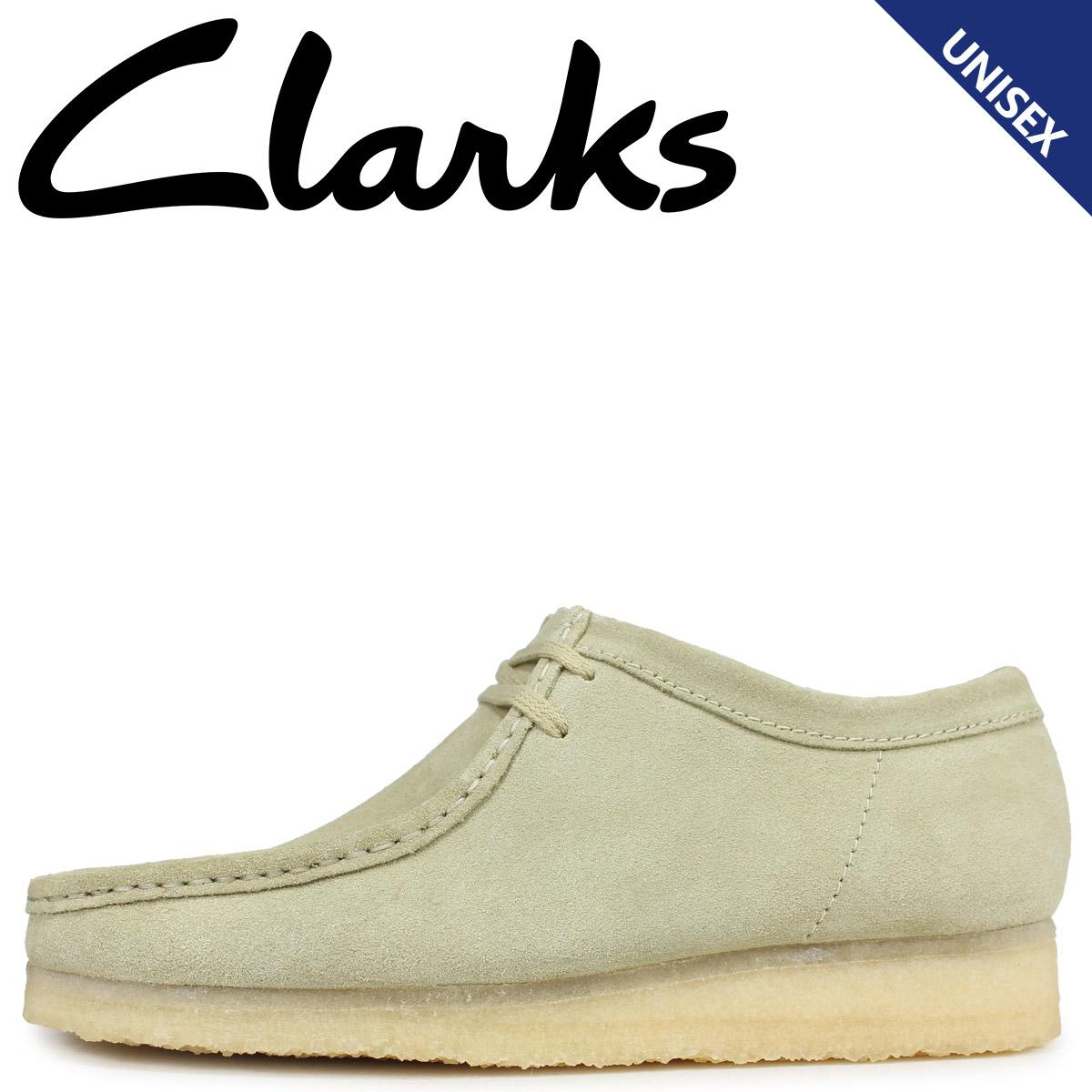 Clarks クラークス ワラビー ブーツ メンズ レディース WALLABEE メープルスエード ベージュ 26133278