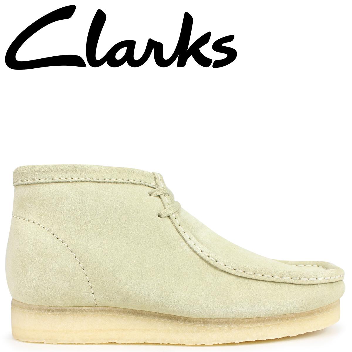 Clarks ワラビー ブーツ メンズ クラークス Clarks WALLABEE BOOT 26133283 メープル