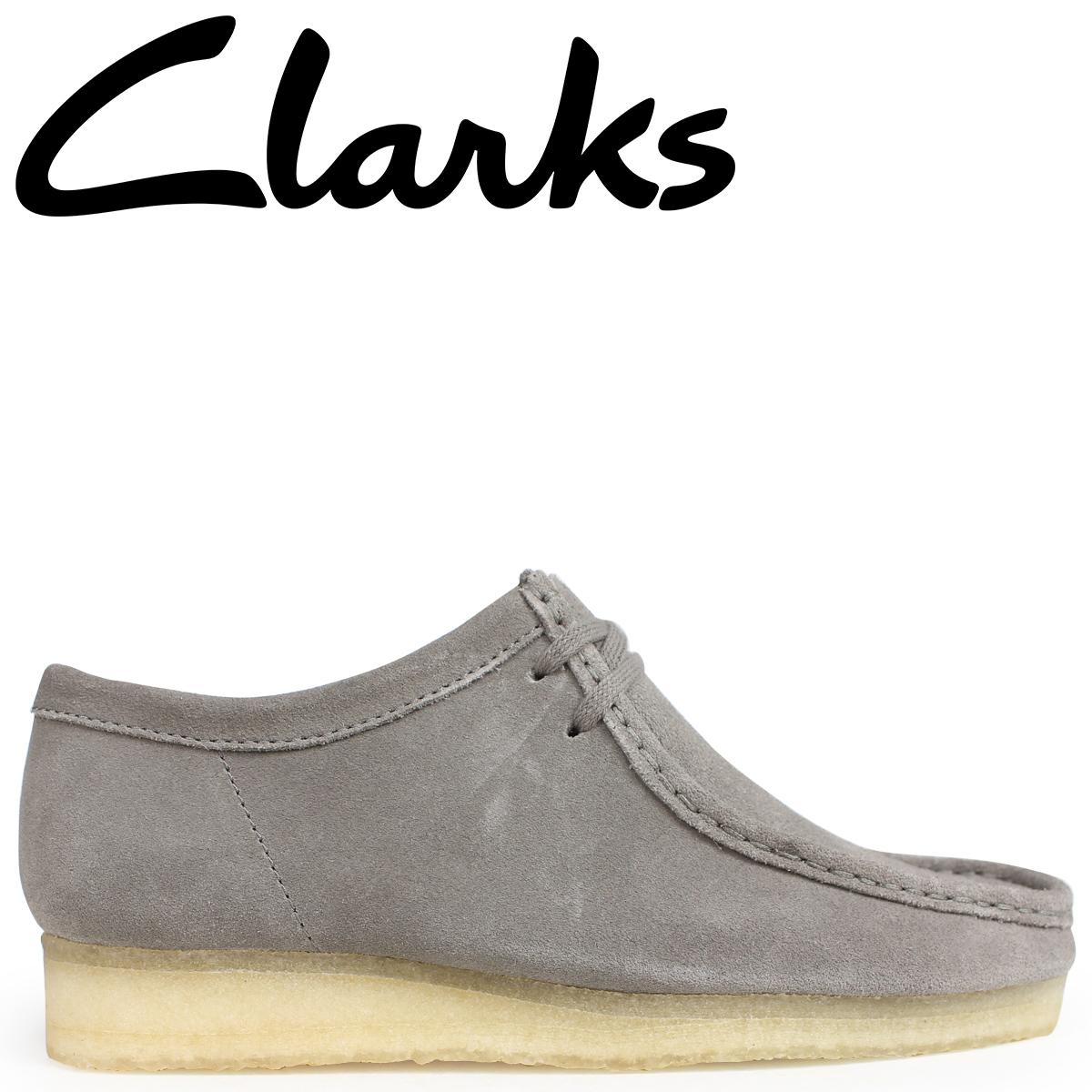 Clarks ワラビー ブーツ メンズ クラークス WALLABEE 26134752 グレー [9/19 新入荷]