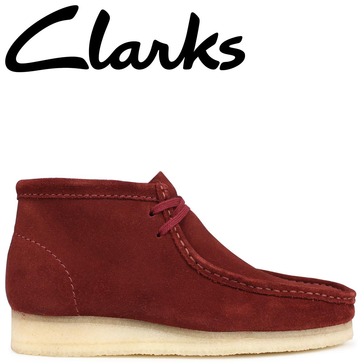 Clarks ワラビー ブーツ メンズ クラークス WALLABEE BOOT 26134755 ブラウン