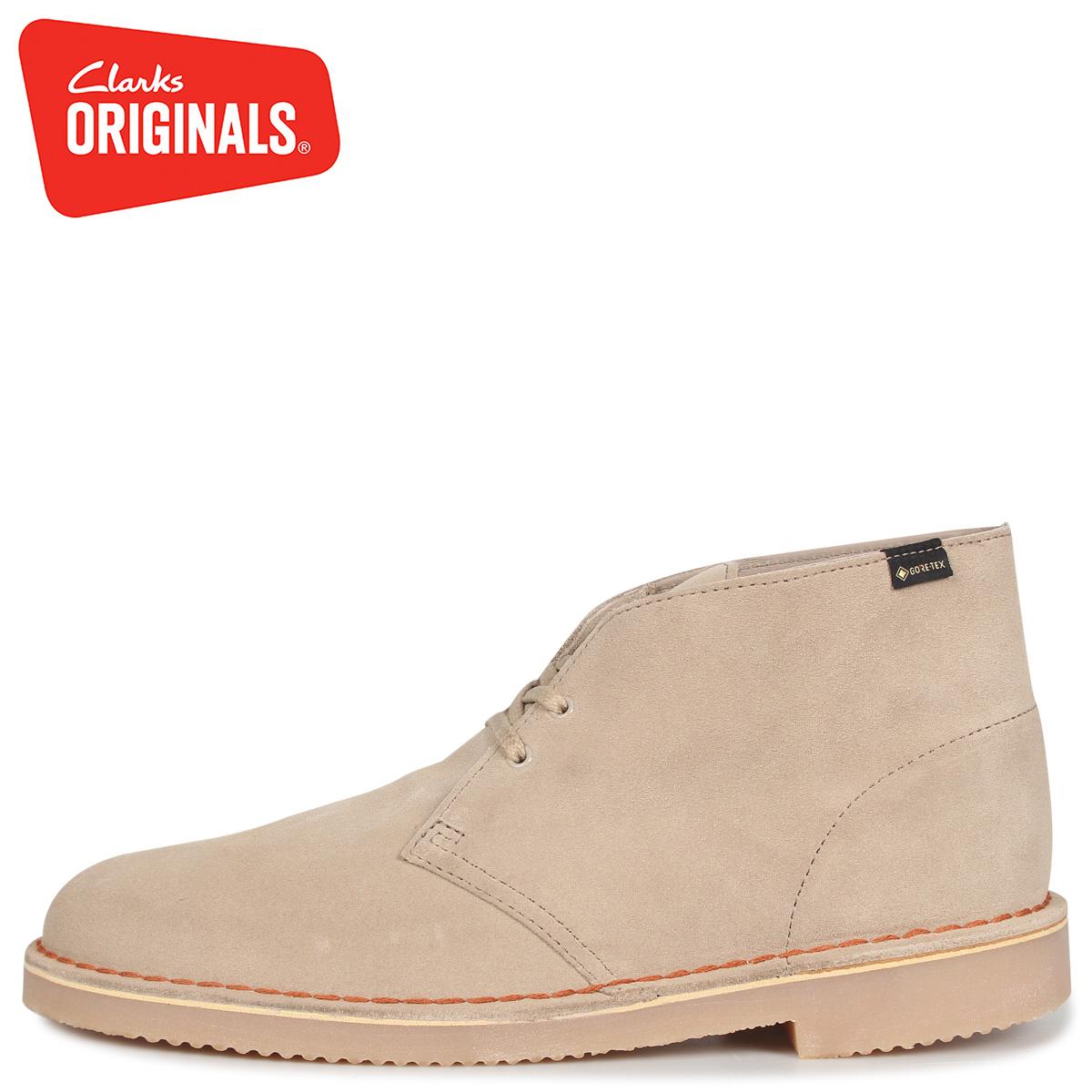 official shop presenting buy popular Clarks Originals kulaki originals desert boots Gore-Tex men GORETEX DESERT  BOOT GTX suede beige 26144250 [10/11 Shinnyu load]