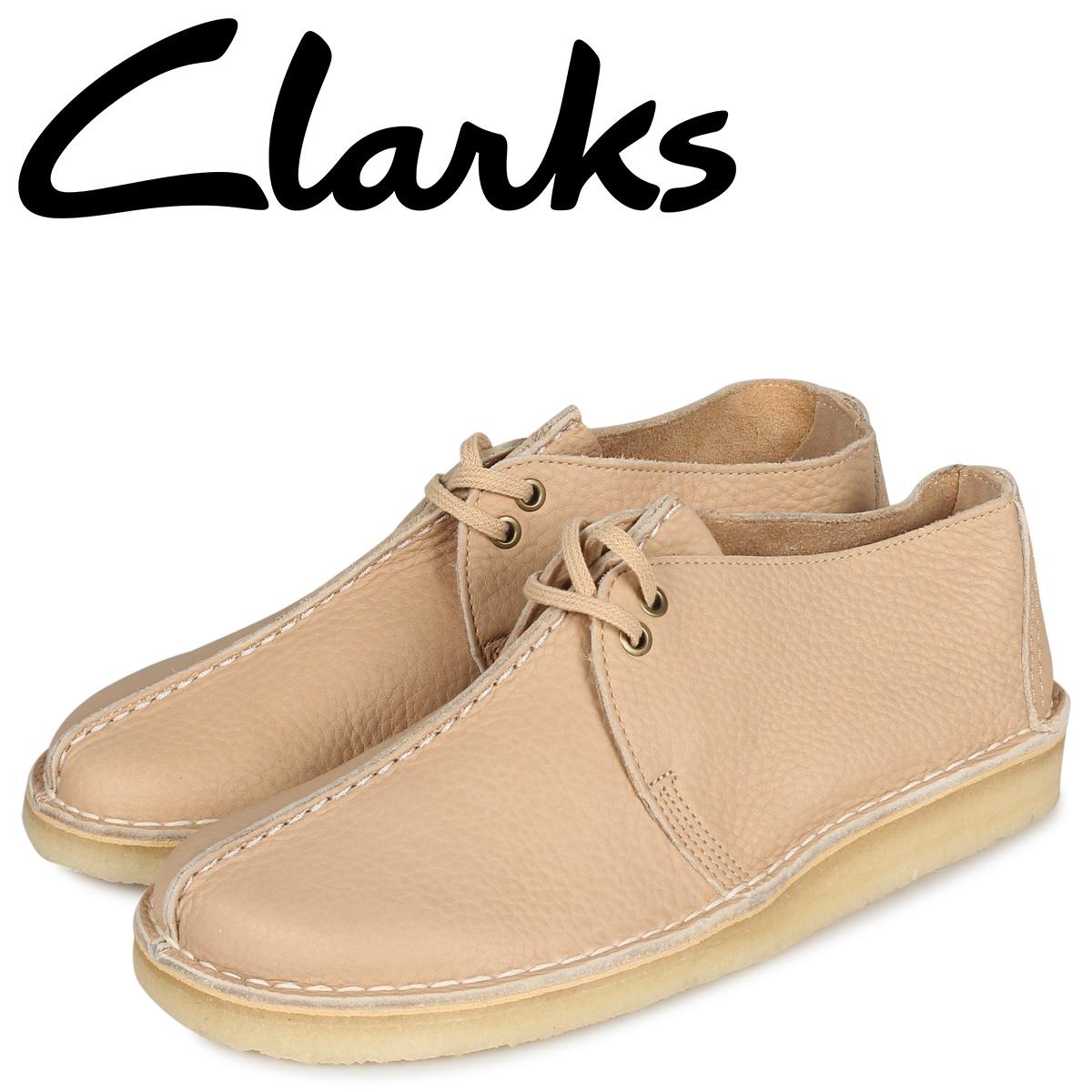 Clarks クラークス デザートトレック ブーツ メンズ DESERT TREK オフ ホワイト 26145275