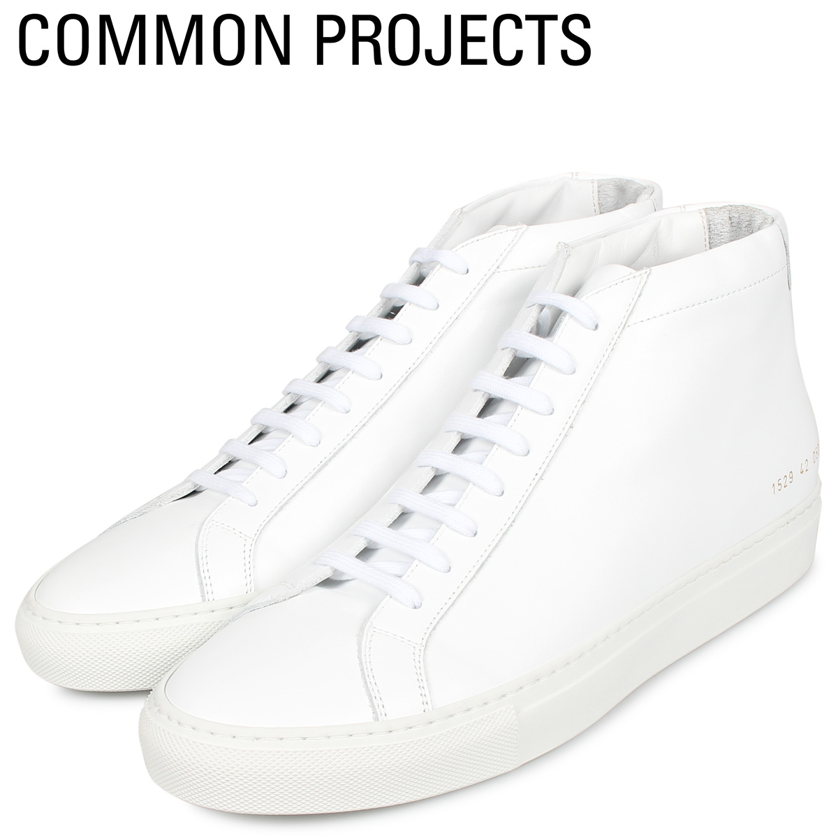 Common Projects コモンプロジェクト アキレス ミッド スニーカー メンズ ACHILLES MID ホワイト 白 1529-0506