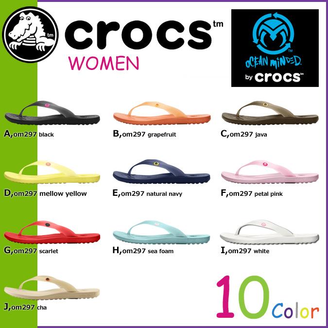 オーシャンマインデッド 由海洋意识由玛丽亚凉鞋 10 Crocs crocs 颜色 OM297 马利亚美国真正跨轻型回收冲浪女士 [真正]