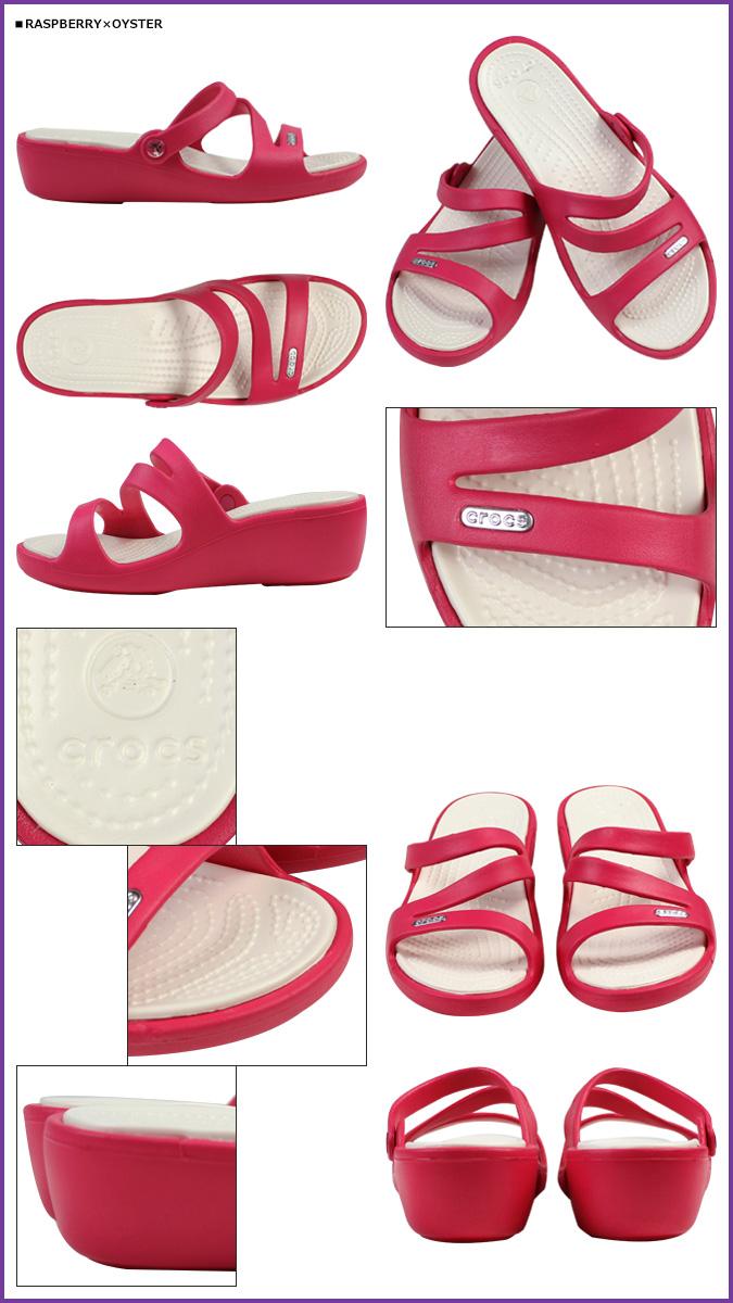 2 x 4 点颜色 Crocs 卡骆驰鞋妇女的帕特里夏帕特里夏 · 交叉灯凉鞋户外 10,386 [经常]