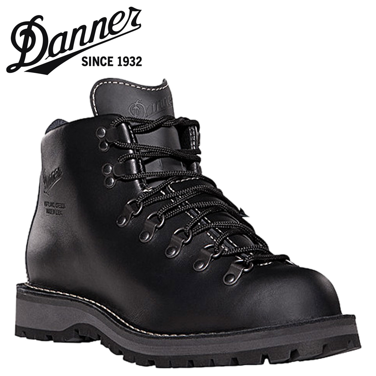 Danner ダナー マウンテンライト2 30860 ブラック 黒 Mountain Light II Dワイズ EEワイズ レザー GORE-TEX Made in USA メンズ