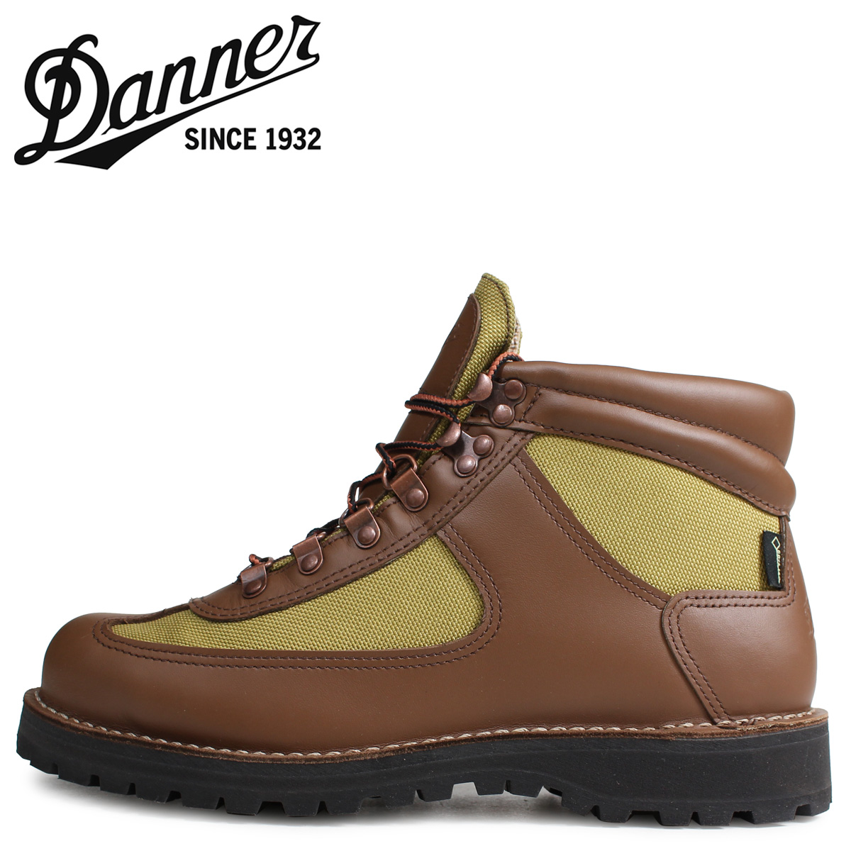 Danner ダナー フェザーライト ブーツ メンズ FEATHER LIGHT REVIVAL MADE IN USA EEワイズ ブラウン 30125
