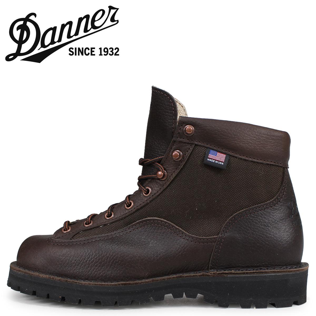 Danner ダナー ダナーライト2 ブーツ メンズ DANNER LIGHT 2 Dワイズ MADE IN USA ダークブラウン 33020
