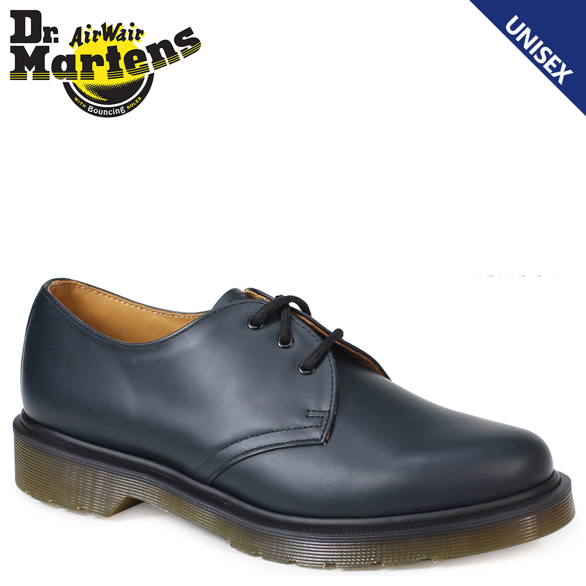 Dr Martens 1461 Pw Part Of The Core Collection 3 Hole Shoes Eyelet Shoe