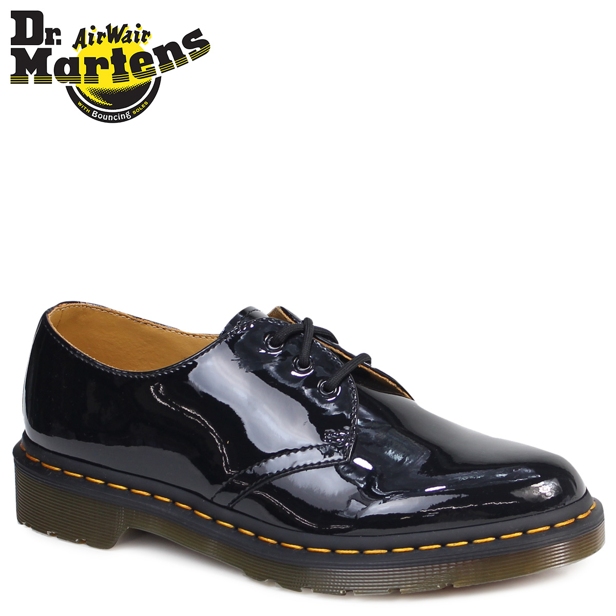 578c32c197 Dr. Martens Dr.Martens 1461 WOMENS 3 Hall shoes R10084001 MODERN CLASSICS  patent leather ...