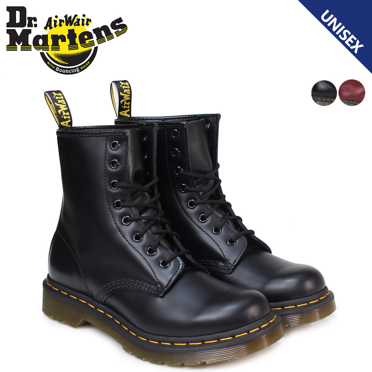 9361fa02bf59ad Dr. Martens Dr.Martens 1460 WOMENS 8 hole boots 11821006 11821600 MATERIAL  UPDATES Leather Womens mens 8 EYE BOOTS