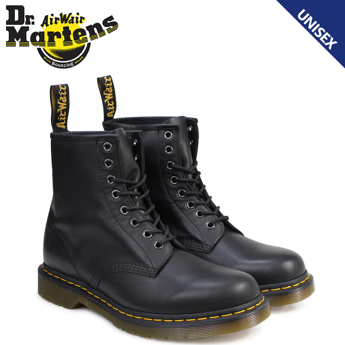 Dr.Martens ドクターマーチン 1460 8ホール ブーツ 8EYE BOOT R11822002 メンズ レディース