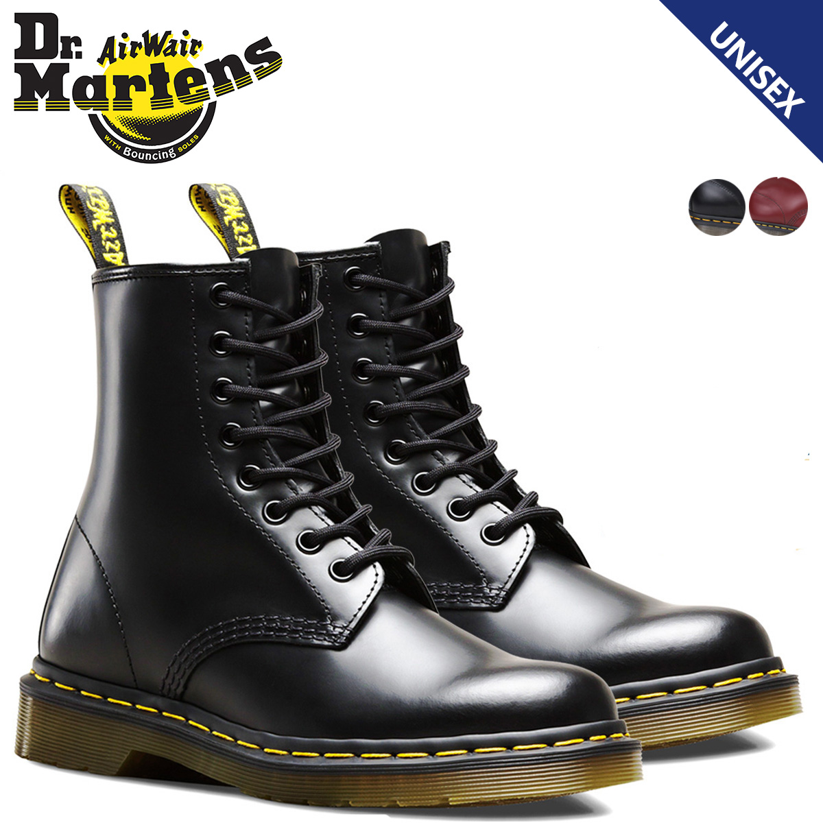 a8b5fb2aca9f «Reserved goods» «10   22 around stock» Dr. Martens Dr.Martens 1460 8 hole  boots 11822006 11822600 MATERIAL UPDATES leather men women. «