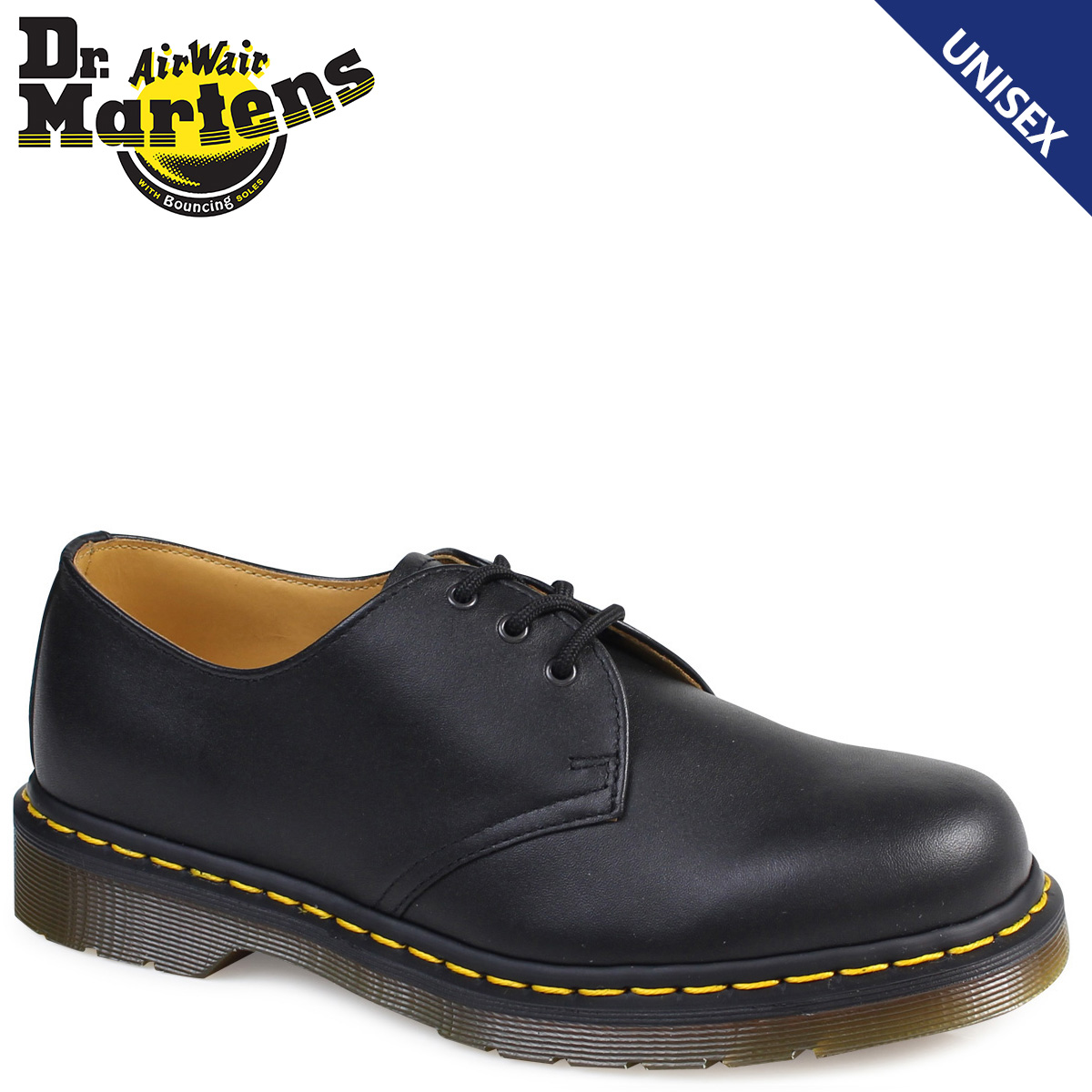 Sugar Online Shop  Dr. Martens Dr.Martens 1461 3 Hall shoes R11838001  MATERIAL UPDATES nappa leather mens Womens 3 EYE SHOE GIBSON  03890d01b1cc