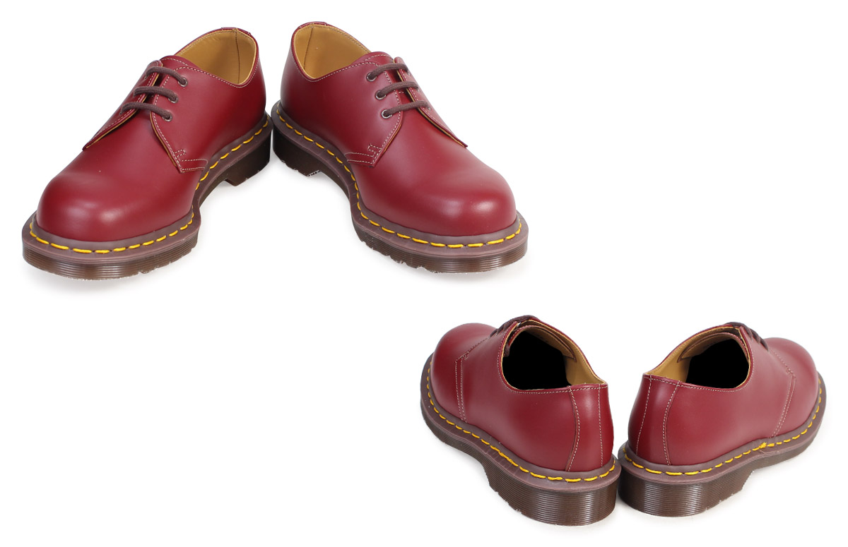 Dr. Martens Vintage 1461 Made in England Oxblood