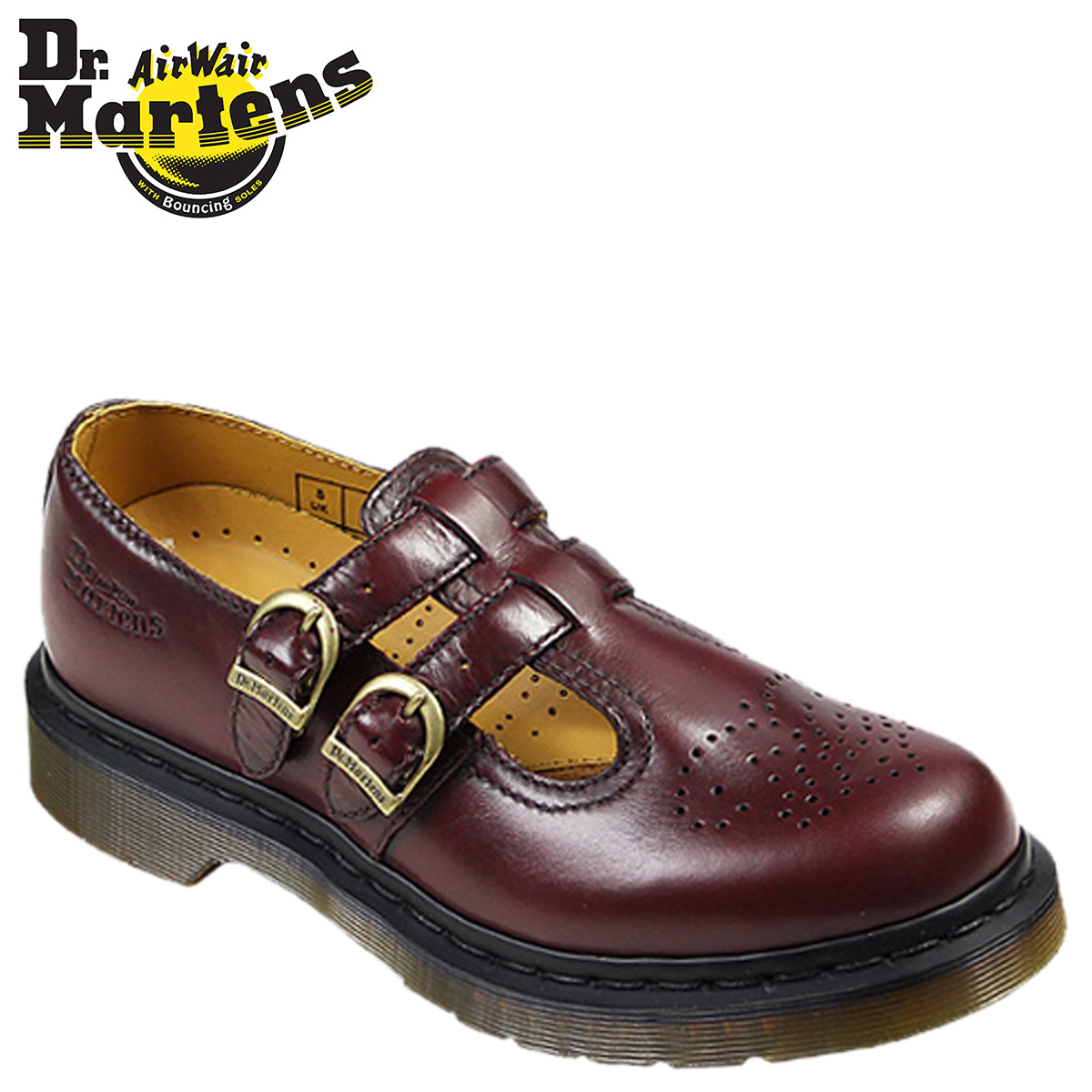 Sugar Online Shop | Rakuten Global Market: 8065 8065 doctor Martin Dr. Martens Lady's Mary Jane double trap shoes MARY JANE DOUBLE STRAP SHOE  leather ...
