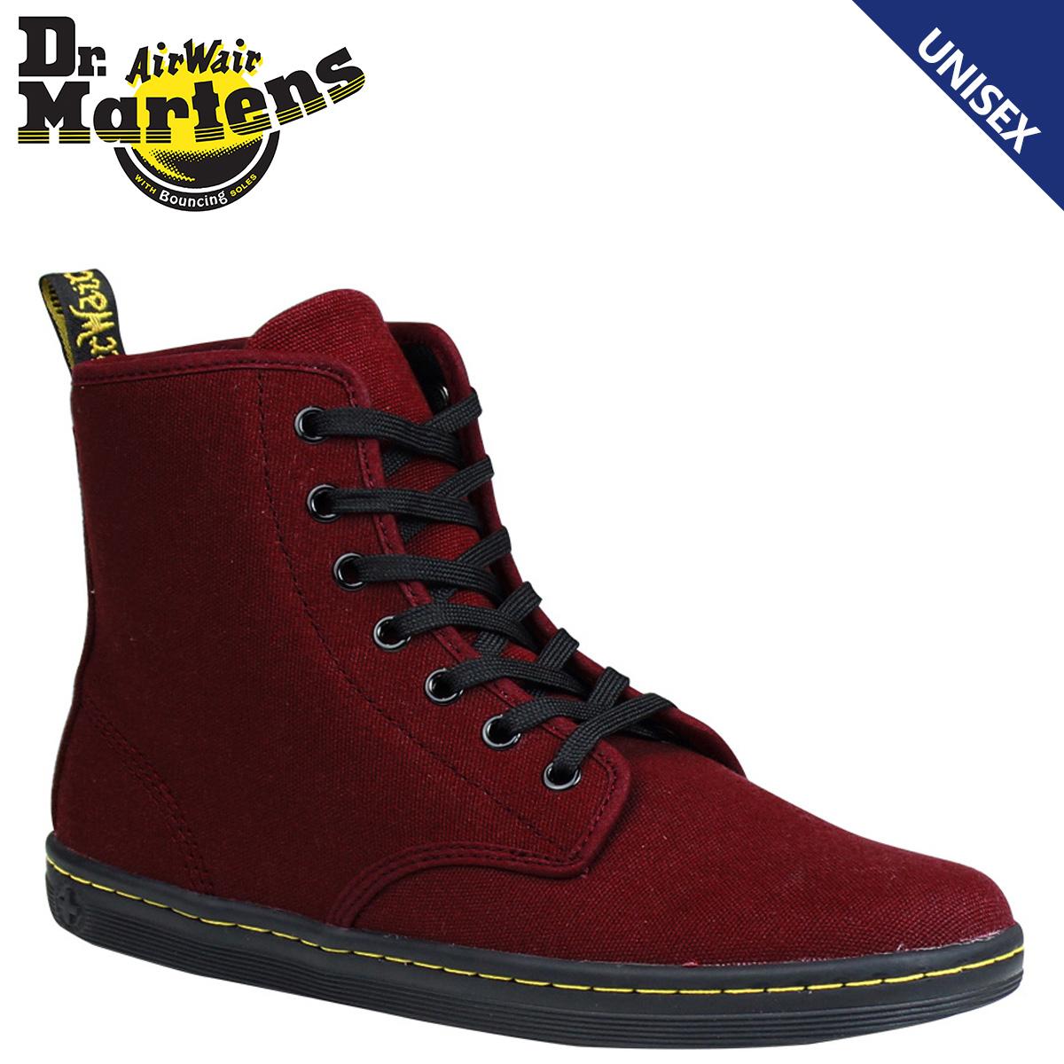 f52b30bdb5ba Point 2 x Dr. Martens Dr.Martens ladies R13524603 7 holes boots  Cherry  Red  SHOREDITCH canvas  1   29 new stock   regular