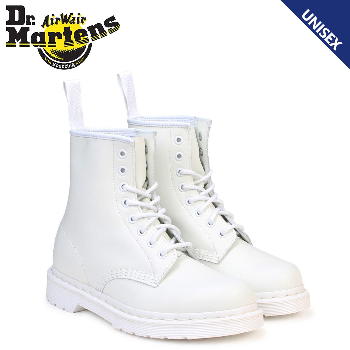 Dr.Martens 8ホール 1460 コルベット ブーツ メンズ レディース ドクターマーチン MONO 8 EYE BOOT ホワイト 白 R14357100