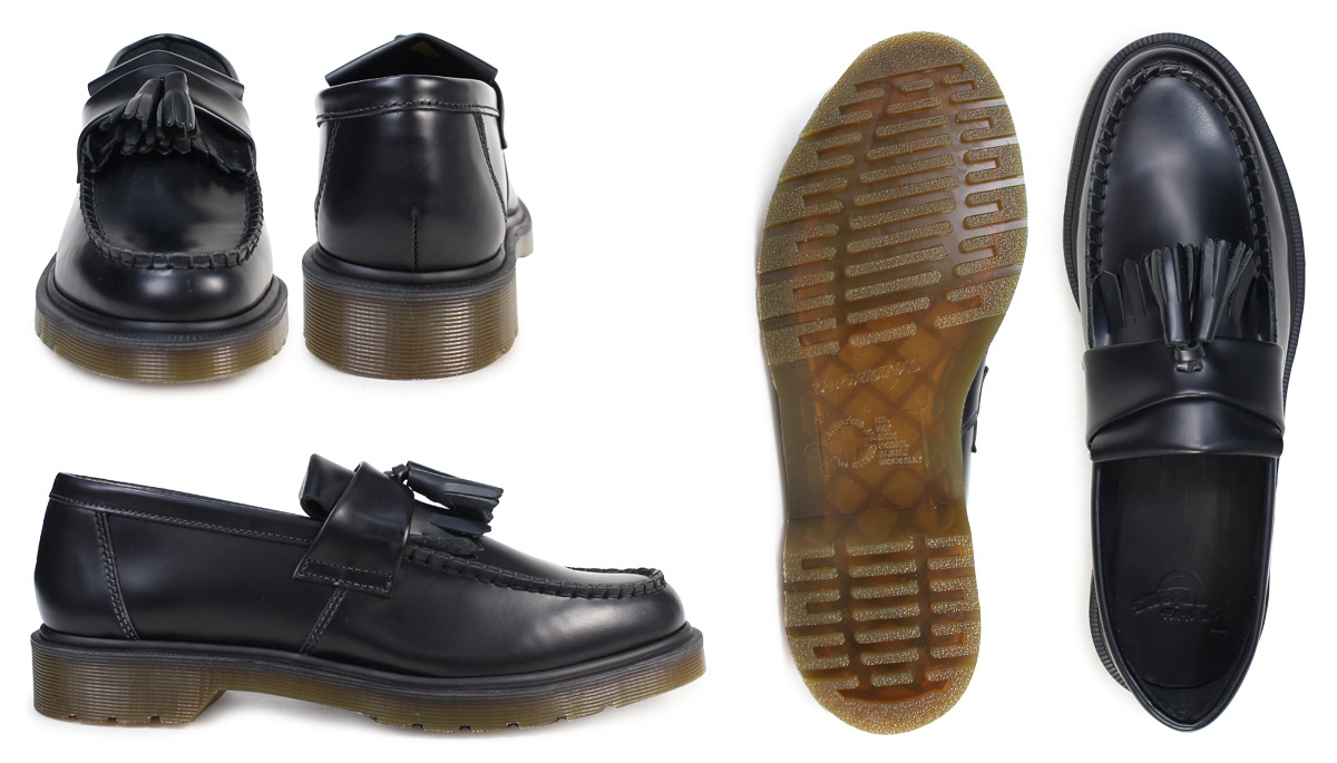 063d3cc1755 Dr. Martens Dr.Martens tassel loafer R14573001 ADRIAN smooth leather mens  Womens TASSLE LOAFER