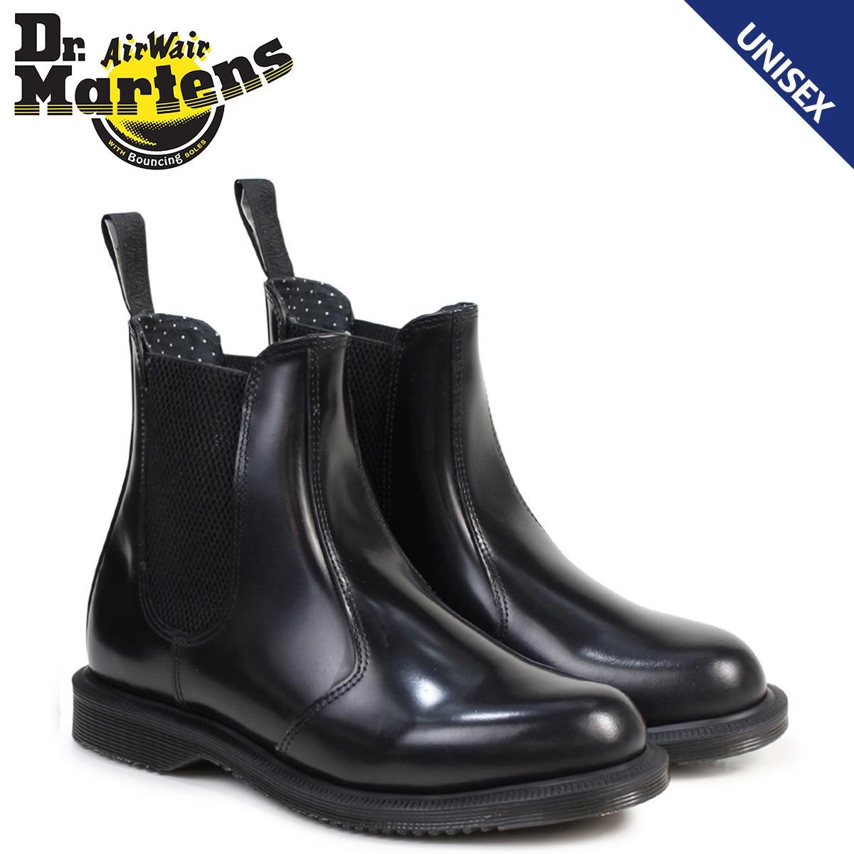 Dr.Martens サイドゴア レディース メンズ ドクターマーチン ブーツ チェルシーブーツ FLORA CHELSEA BOOT R14649001