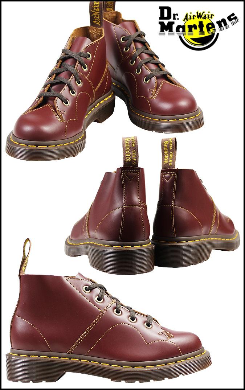 [卖出] 博士马滕斯 Dr.Martens 5 厅猴子靴妇女教会 5 小孔猴子启动 R16054601