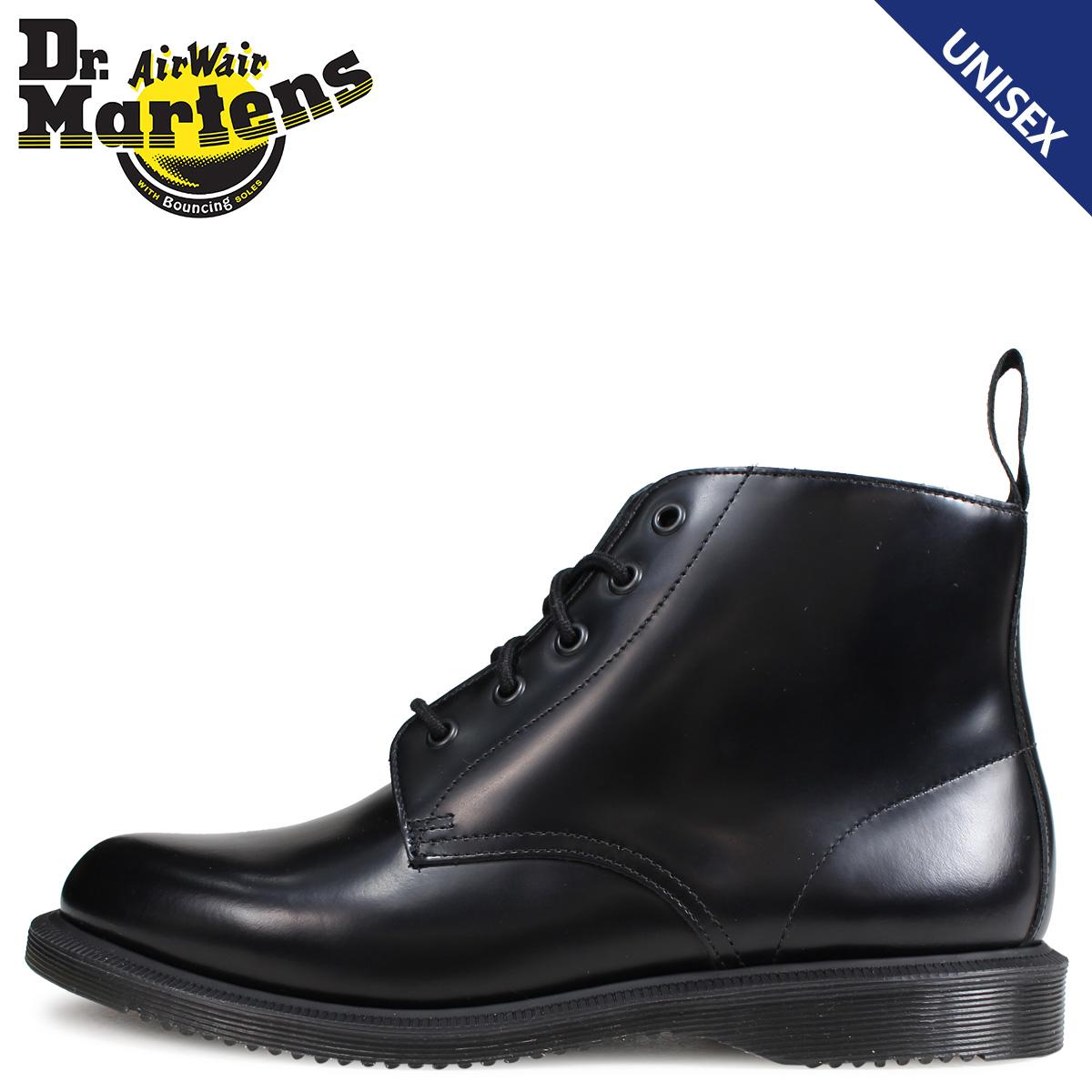 Dr.Martens ドクターマーチン 5ホール ブーツ メンズ レディース EMMELINE KENSINGTON 5EYE BOOT ブラック R16701001