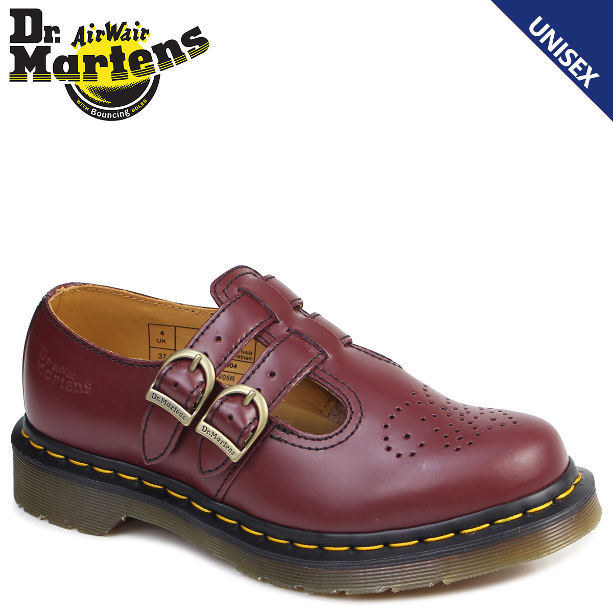 Doctor Martin Mary Jane Lady's Dr.Martens shoes CORE 8065 MARY JANE R20159600 burgundy [8/2 Shinnyu load]