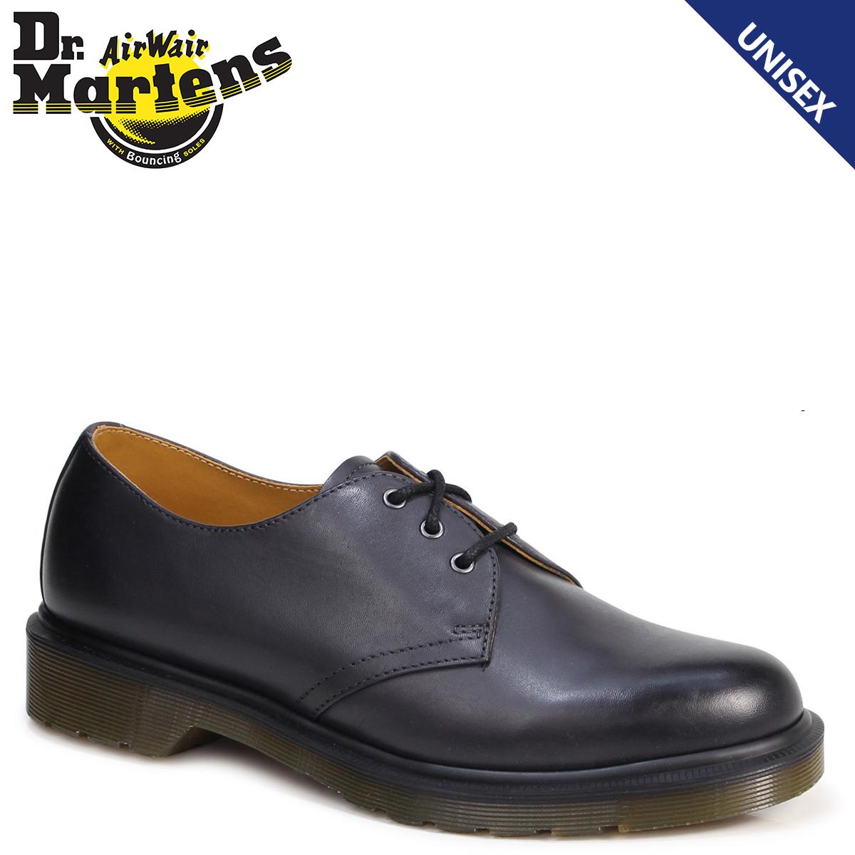 Dr.Martens 3ホール 1461 メンズ レディース ドクターマーチン オックスフォード シューズ 3EYELET SHOE R21153005 ブラック 黒