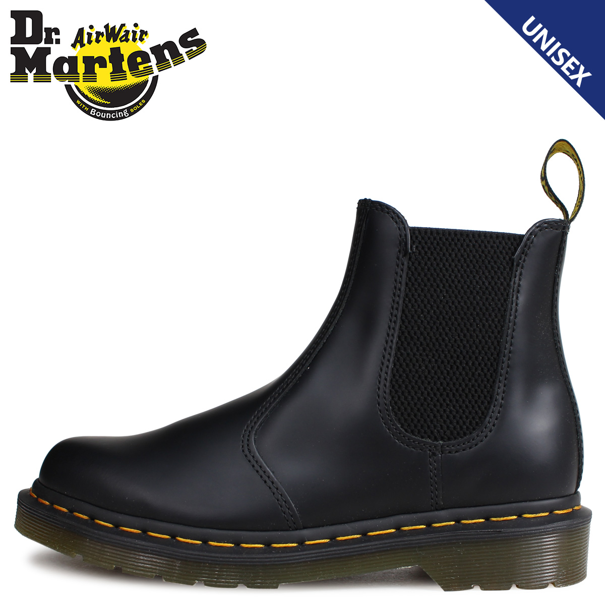68be08b44c Dr.Martens doctor Martin 2976 side Gore Chelsea boot men gap Dis ARCHIVE YS  black ...