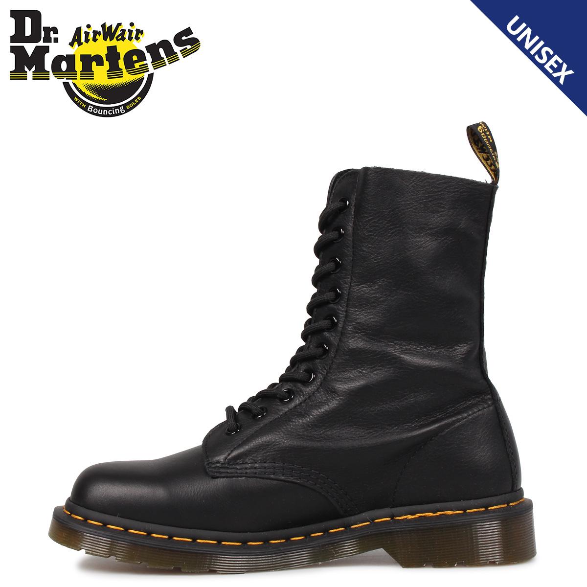 Dr.Martens ドクターマーチン 10ホール 1490 W ブーツ メンズ レディース 10EYE BOOT ブラック 黒 R22524001