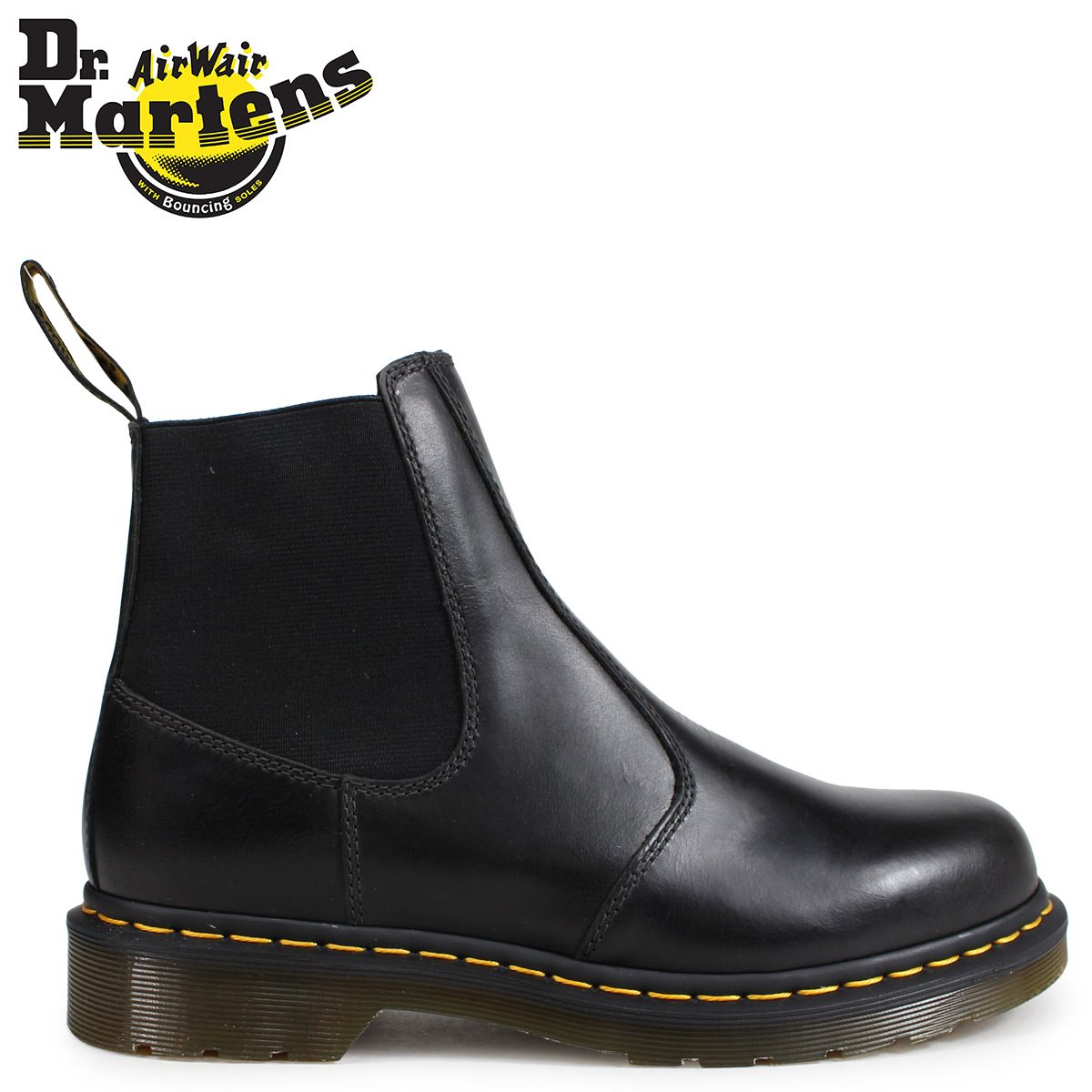 a047c4dbb4 Dr.Martens side Gore Chelsea boot men doctor Martin HARDY ORLEANS gunmetal  R22827029 [load ...