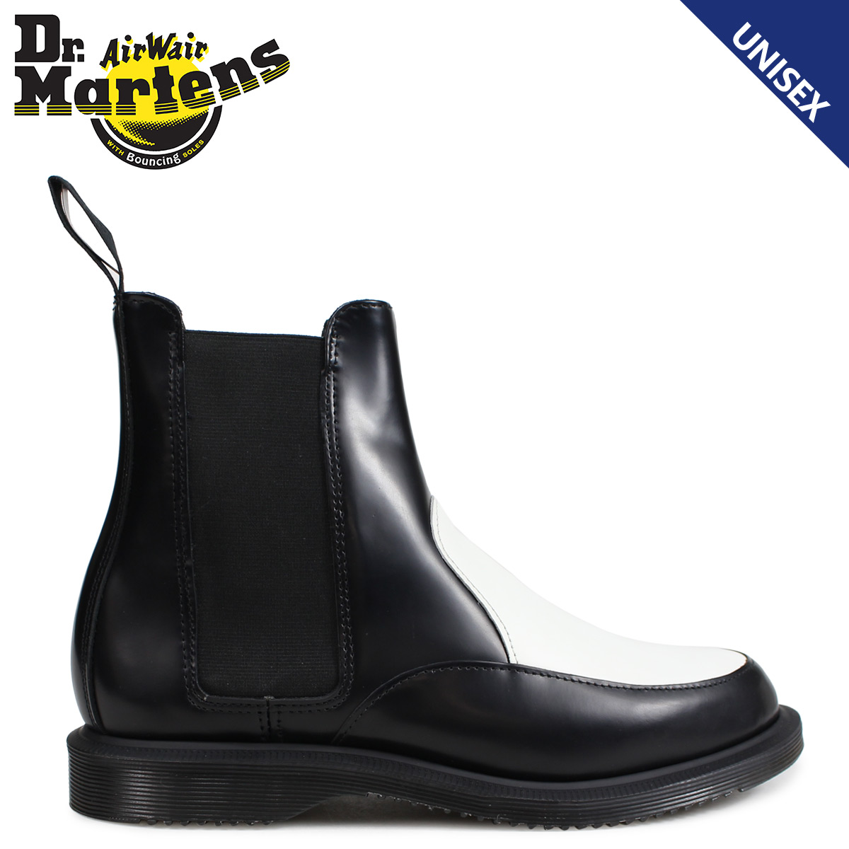 4d636f77cd Dr.Martens side Gore Chelsea boot Lady's men doctor Martin AIMELYA CHELSEA  BOOTS black R23966009 ...