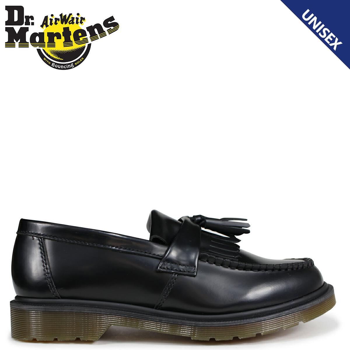 Dr.Martens ローファー タッセル メンズ レディース ドクターマーチン ADRIAN TASSEL LOAFER ブラック 黒 R24369001