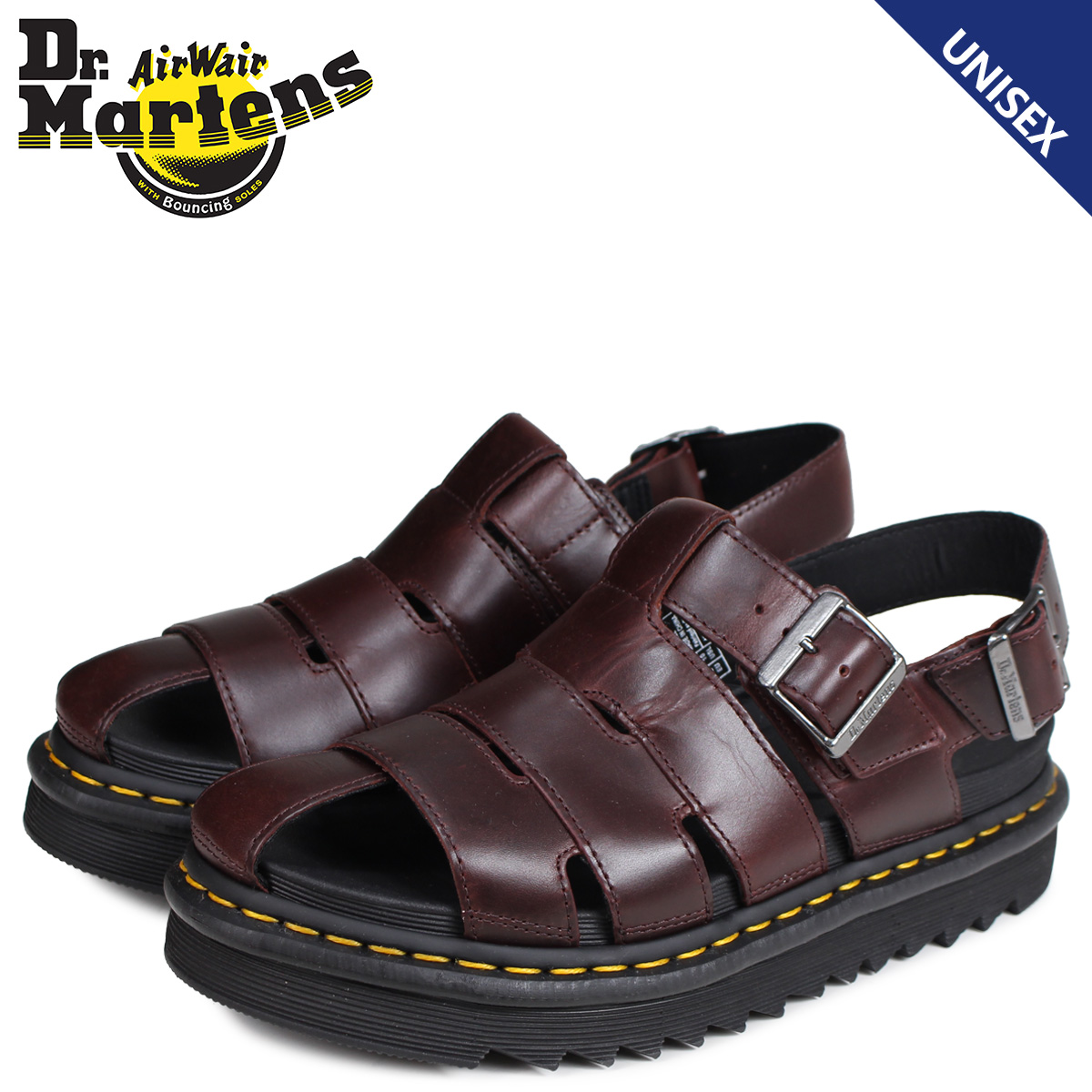 professional sale best deals on how to buy Dr.Martens doctor Martin sandals Abel fisherman men gap Dis ABEL brown  R24522211