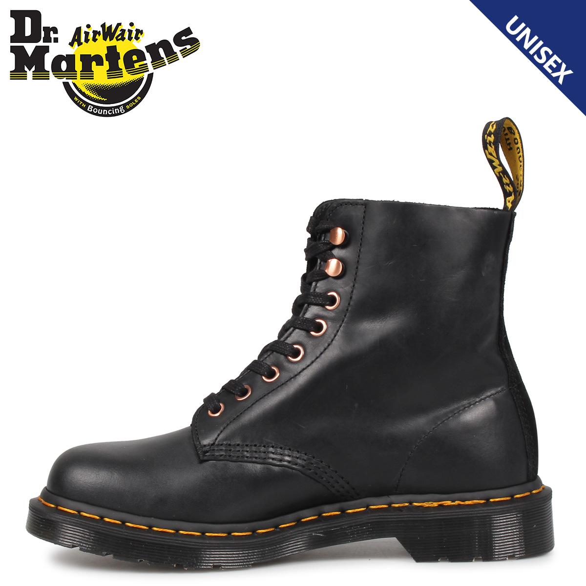 Dr.Martens ドクターマーチン 8ホール 1460 ブーツ メンズ レディース PASCAL 8EYE BOOT ブラック 黒 R25359001