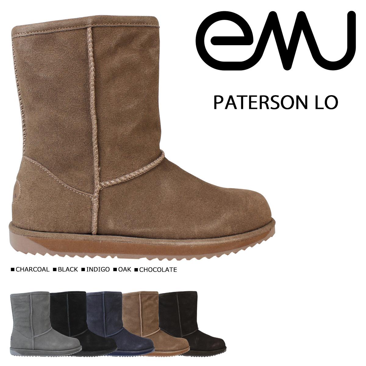 エミュー emu パターソン ロー ムートンブーツ PATERSON LO W10771 レディース