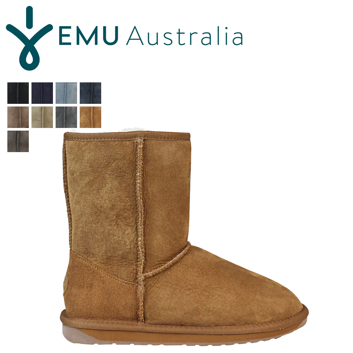 Sugar Online Shop | Rakuten Global Market: «Reservation products» «9 / 30 when I will be in stock» EMU EMU Stinger Lo Sheepskin boots W10002 STINGER LO Sheepskin Womens mens boots