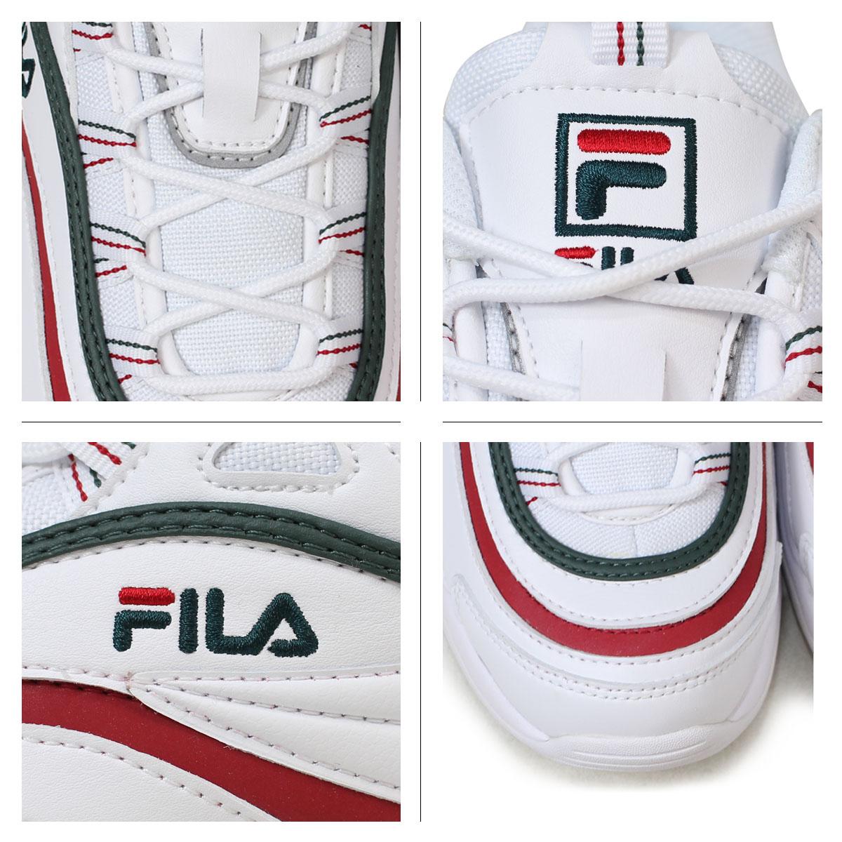 Fila FILA Fila lei sneakers men gap Dis folder FOLDER FILARAY SMU collaboration white white FLFL8A1U10 FS1SIA1166X WGN