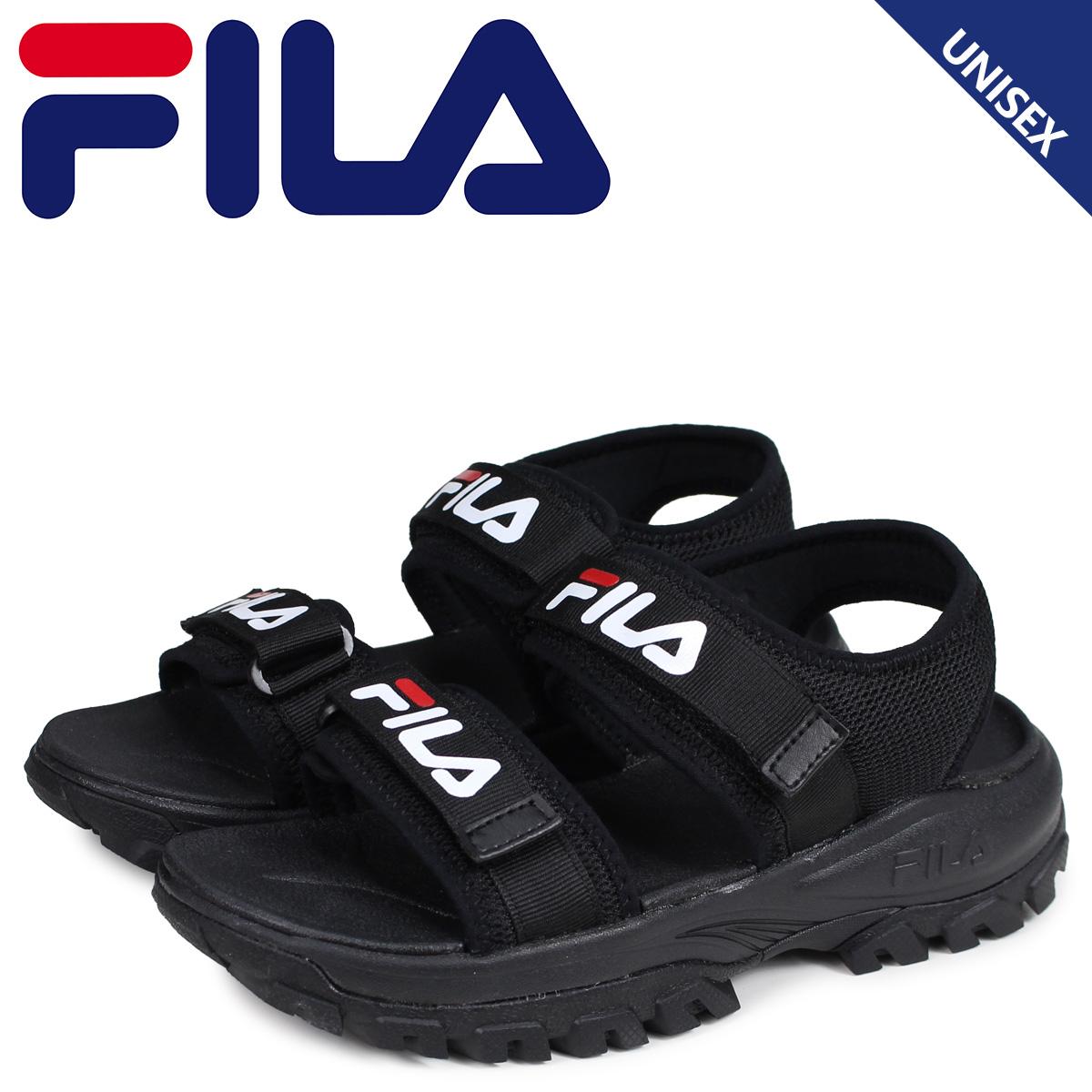 2f89bc6b Fila FILA tracer sandals sports sandals men gap Dis thickness bottom RAY  TRACER SD black black FS1SIB2011X-BBK