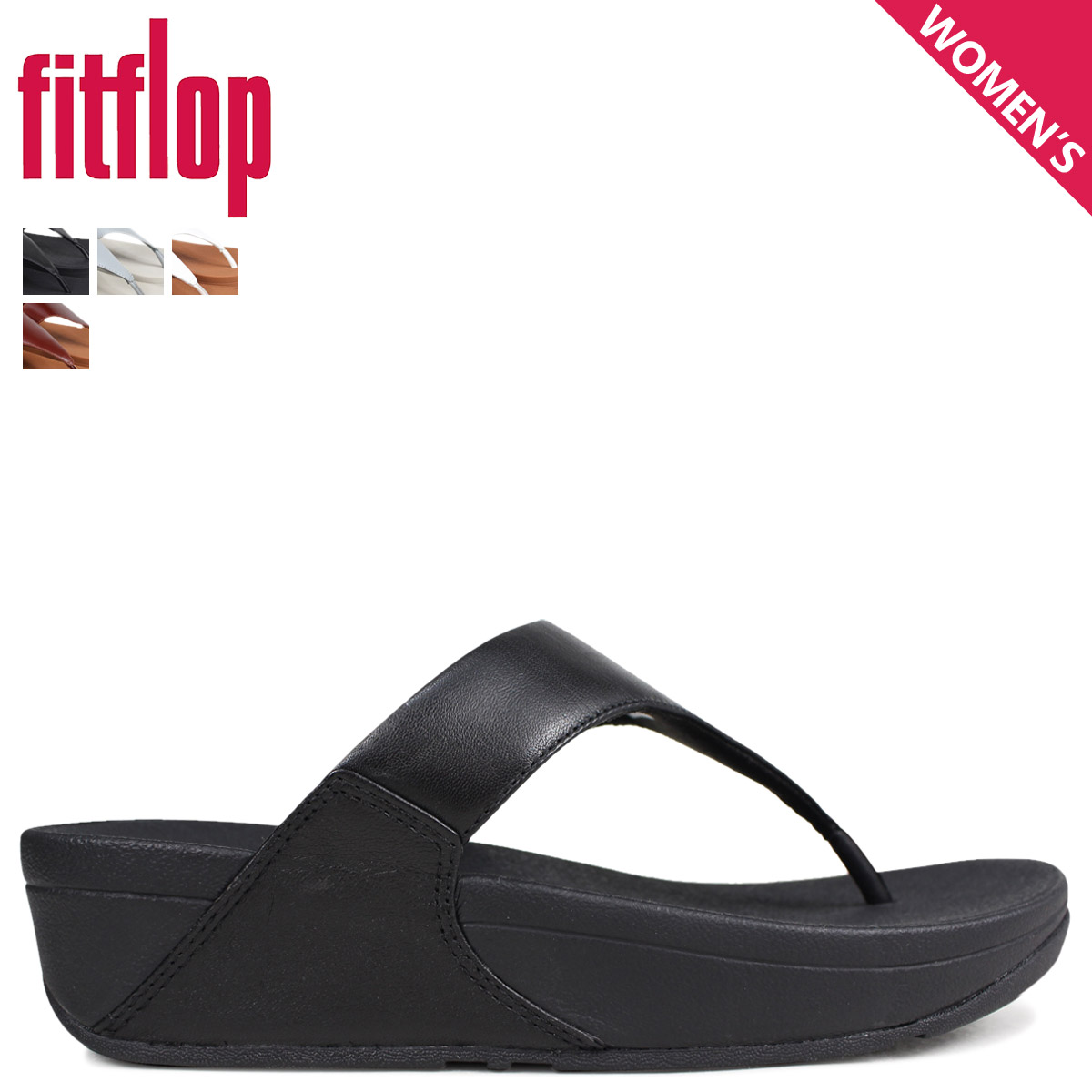 f34bec1922ded Sugar Online Shop  Fitting FLOP sandals FitFlop Lulu LULU LEATHER ...