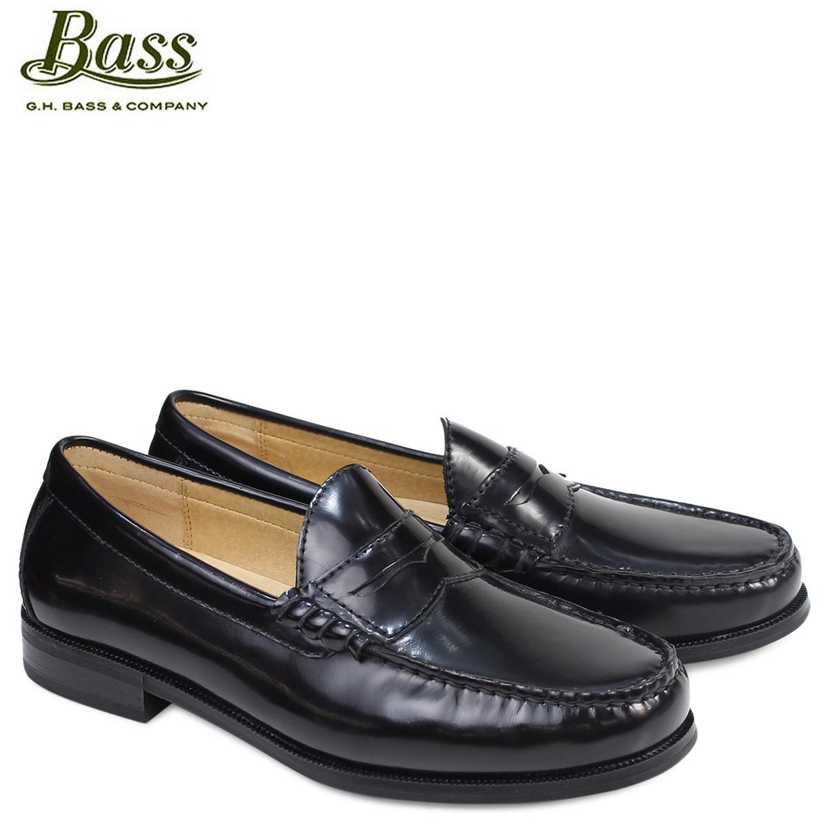G.H. BASS ローファー ジーエイチバス メンズ ペニー CARMICHAEL PENNY LOAFER 70-10204 靴 ブラック