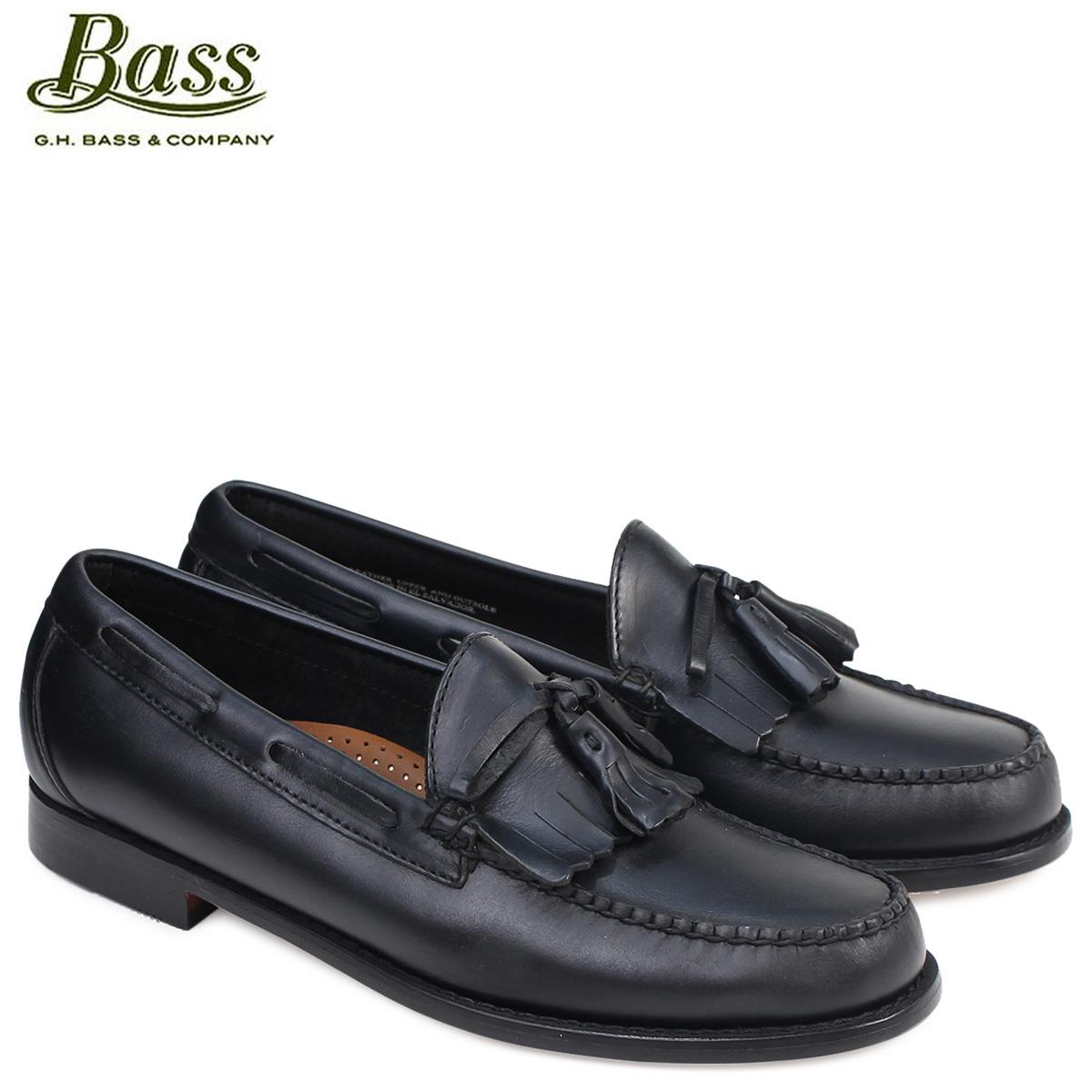 ジーエイチバス ローファー G.H. BASS メンズ ペニー タッセル LAWRENCE KILTIE WEEJUNS 70-80914 靴 ブラック
