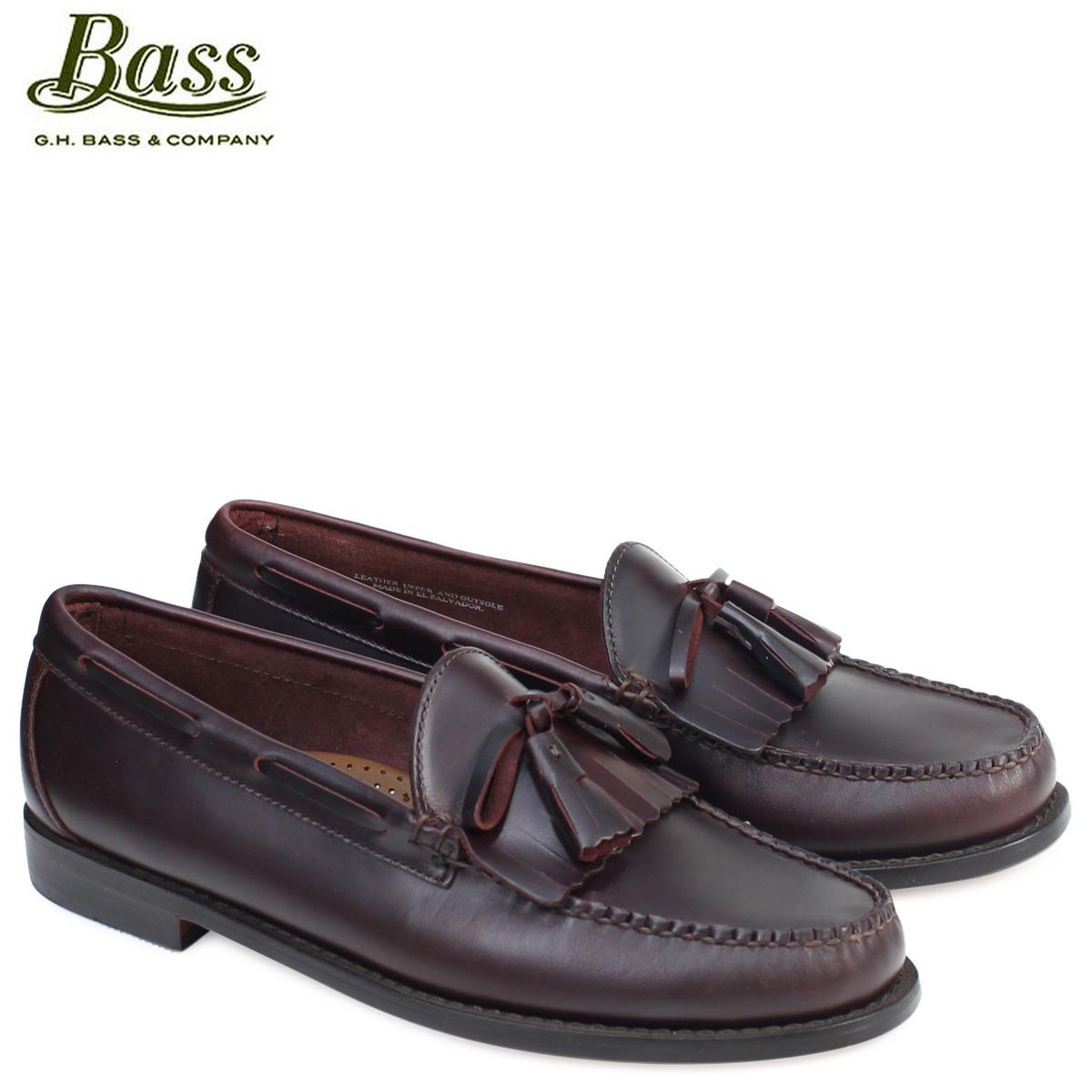 ジーエイチバス ローファー G.H. BASS メンズ タッセル LAWRENCE KILTIE WEEJUNS 70-80918 靴 バーガンディ